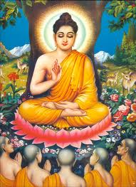 Buddha under the gaya tree